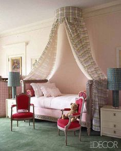 Children's Room Ideas—Children's Room Decorating - ELLE DECOR @dailybasics ♥♥♥