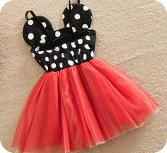 Minnie Mouse dress in red! Perfect for those Disney vacations or those birthday photos! Fits true to size. This is a preorder that will begin shipping on April Diy Baby Costumes For Girls, Diy For Girls, Girl Costumes, Baby Girl Dresses, Baby Dress, Dress Girl, Minnie Birthday, 2nd Birthday, Birthday Ideas