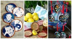 14 Superbes idées à réaliser avec des couvercles en métal de vos pots de verre Pots, Diy Crafts, Inspiration, Home Decor, Tips And Tricks, Can Lids, Repurposed, Decorating Tips, Diy Projects