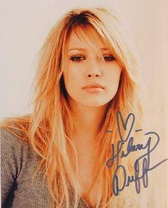 Hilary Duff's Autograph