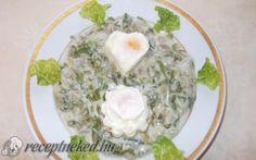 Mángold főzelék,tükörtojással recept fotóval Ale, Eggs, Breakfast, Foods, Morning Coffee, Food Food, Food Items, Ales, Egg