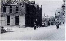 Het verkeer van de geallieerden werd over Gennep Bridge door de Maasweg, Maasstraat en dan Zandstraat geleid.