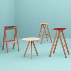 Copenhague Round Table CPH20 50cm by HAY - Ronan & Erwan Bouroullec - CoffeeTables - Tables - Furniture