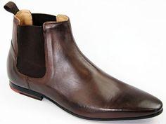 MERC Kensington Chelsea Boots Dark Brown