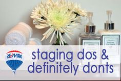 Staging your home is key to selling it. Let a RE/MAX agent guide you. #ThisGirlSellsHouses #realestate