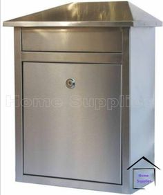 STAINLESS STEEL LETTERBOX LETTER BOX MAIL BOX | eBay