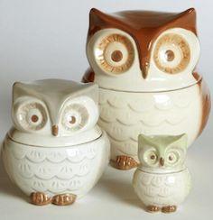 Owl measuring cup set