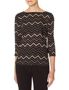 Chevron Popover Top from THELIMITED.com