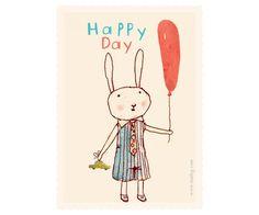 Happy Birthday Rabbit, Boy