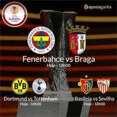 Confere os prognósticos para a Liga Europa...   http://www.apostaganha.com/2016/03/10/prognostico-apostas-fenerbahce-vs-braga-liga-europa-098/  http://www.apostaganha.com/2016/03/10/prognostico-apostas-fenerbahce-vs-braga-liga-europa-92/  http://www.apostaganha.com/2016/03/09/prognostico-apostas-dortmund-vs-tottenham-liga-europa-09/  http://www.apostaganha.com/2016/03/09/prognostico-apostas-basileia-vs-sevilha-liga-europa-2/  Quer 100 euros de bonus, streams dos maiores eventos e uma casa…