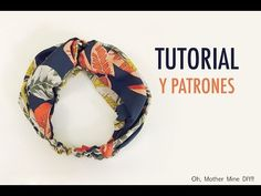 Free women's headband pattern & video tutorial - Oh, Mother Mine! Bohemian Crafts, Sewing To Sell, Vintage Headbands, Headband Pattern, Hair Beads, Diy Hair Accessories, Diy Hairstyles, Dressmaking, Diy Fashion