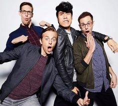 """""""Eugene in the sheets, Keith in the streets. Buzzfeed Try Guys, Good People, Pretty People, Eugene Lee Yang, Philip Defranco, Danisnotonfire And Amazingphil, Grown Man, Daniel Radcliffe, Chris Pratt"""