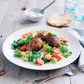 Lamb & Quinoa Koftas with Broad Bean Tabouli