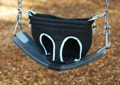 Not enough toddler swings at the park? This turns any swing into a safe spot for your little one! Genius! #BabyCenterBlog