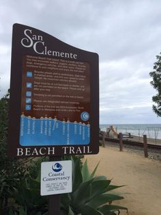 Located in the charming beach town of San Clemente, you'll find the San Clemente Beach Trail to be a delightful destination where you can enjoy a refreshing stroll along a scenic oceanside setting.