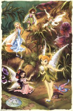 Disney Fairies images Disney Fairies wallpaper and background . Hades Disney, Disney Amor, Arte Disney, Disney Love, Tinkerbell Movies, Tinkerbell And Friends, Tinkerbell Disney, Tinkerbell Fairies, Pixie Hollow