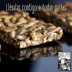 ¿Estás lista para llenar tu día con la mejor energía? Lleva contigo las barras de cereal #Susi saludables y deliciosas, ideales para comer en cualquier momento del día. #SusiPanaderíaArtesanal  #EstiloDeVidaSaludable #SnackSaludable #Susi #Granola #Cereal #Oats #Pan #Bread #Brot #Panadería #ComidaSaludable #Cereales #FrutosSecos #Yummy #Delicious #Tasty #TradiciónAlemana #SinAditivos #Delicioso #Sano #Natural #HealthyFood #NutriciónCreativa
