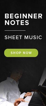 Beginner Notes Sheet Music
