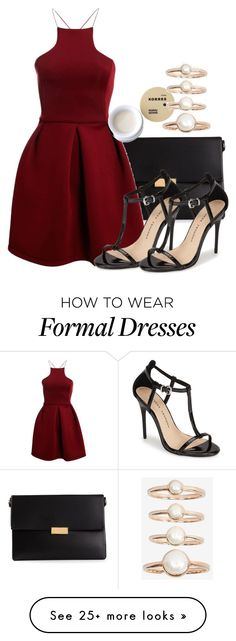 """""""Liv inspired formal outfit"""" by kit-kat227 on Polyvore featuring STELLA McCARTNEY, Boohoo, Chinese Laundry, Korres and Eddie Borgo"""