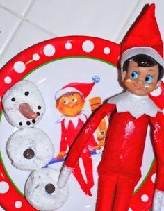Elf on the Shelf has a special elf breakfast plate (plate for pottery barn kids  sc 1 st  Pinterest & Elf on the Shelf Christmas Table Dinnerware | Pottery Barn Kids ...