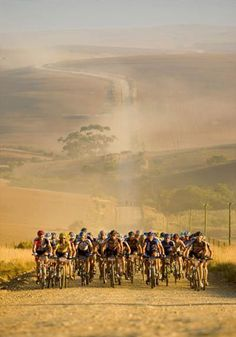 Article: 5 Of The Toughest Mountain Bike Races In The World - Pictured is the Cape Epic, South Africa