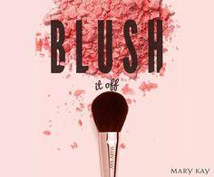 Blush...