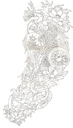 best japanese phoenix tattoo - Google zoeken