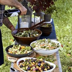 Raw Food Recipes, Gourmet Recipes, Healthy Recipes, Salad Recipes, Gourmet Breakfast, Breakfast For Dinner, Open Kitchen, Kitchen Wood, Reception Food