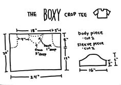 Boxy Crop Top