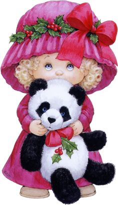 Christmas...Me and my Panda Bear...