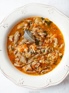 Polish Recipes, Some Recipe, Soups And Stews, Food For Thought, Thai Red Curry, Favorite Recipes, Yummy Food, Dishes, Healthy