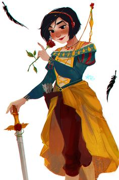 #Snowwhite @Sketch_Dailies by Ami Williams