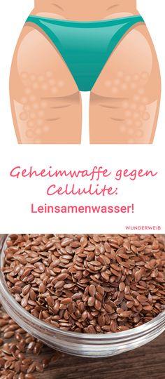 Die Leinsamen werden die Cellulite nicht wegzaubern, doch sie unterstützen und stärken das Bindegewebe.