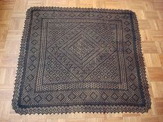Ravelry: Medallion Square Shawl pattern by Galina Khmeleva