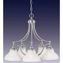 View the Royce RC70ES/5-12 Traditional / Classic Five Light Down Lighting Chandelier from the Prescott Collection at LightingDirect.com.