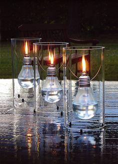 Lámpara de aceite de mesa EDISUN by OPOSSUM Design