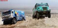Kamaz vs. Iveco.. Who Will win 2014?!