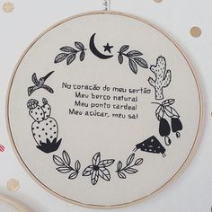 * English below* Um dos bordados da coleção exclusiva que fizemos para a decoração de um casamento com referência no sertão nordestino, xilogravura e literatura de cordel ☀️ {embroidery for an exclusive collection made for decorating a wedding with reference in the brazilian northeastern wilderness, woodcut and regional literature ☀️} #clubedobordado #casarau #exclusive
