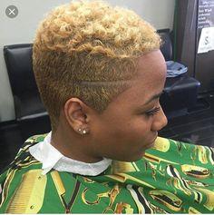 for all things natural hair care! - July 27 2019 at Natural Hair Short Cuts, Tapered Natural Hair, Short Hair Cuts, Natural Hair Styles, Natural Beauty, Afro Blonde, Sassy Hair, My Hairstyle, Fade Haircut