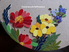 Mosaic Flower Pots, Mosaic Pots, Mosaic Diy, Mosaic Garden, Mosaic Crafts, Mosaic Projects, Mosaic Glass, Mosaic Tiles, Kitchen Mosaic