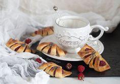 Диетические конвертики с малиной из творожного теста | Рецепты правильного питания - Эстер Слезингер