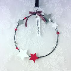 Day preschool Weihnachtliche D - Country Christmas Decorations, Diy Christmas Tree, Valentines Day Decorations, Rustic Christmas, All Things Christmas, Star Decorations, Christmas Crafts For Toddlers, Toddler Christmas, Xmas Crafts
