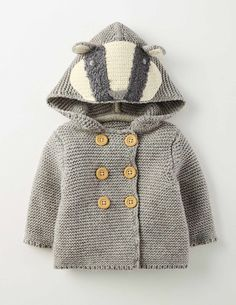 Boys Knitted Jacket 71525 Coats & Jackets at Boden