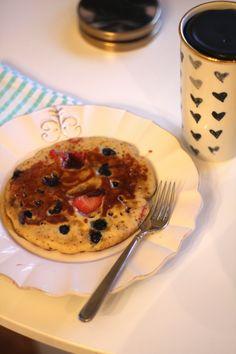 sarah tucker : Gluten Free Buckwheat Protein Pancakes
