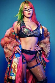 [The women of WWE Evolution]: Asuka Wrestling Superstars, Wrestling Divas, Women's Wrestling, Wrestling Stars, Wwe Divas, Evolution, Japanese Wrestling, Catch, Watch Wrestling