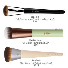 """2,012 Likes, 10 Comments - DupeBoss (@dupeboss) on Instagram: """"❗️D U P E P R O O F❗️ We found some amazing full coverage foundation brushes! They can get pretty…"""""""