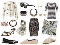 Accessories for a very simple summer wardrobe