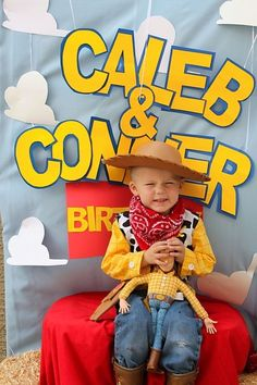 "Photo 15 of 42: Toy Story / Birthday ""Woody's Round Up"" 