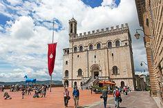 Gubbio, una preciosa ciudad medieval italiana #viajes #travel #Italia #Umbria