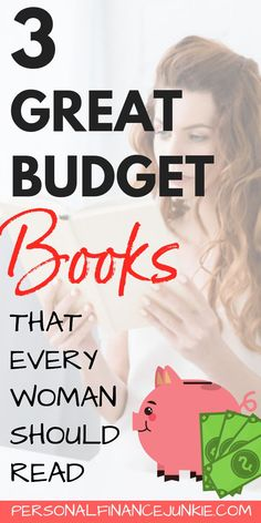 Learn how to create a budget you can stick to with these top budget books for women. Finally create a budget that will improve your family's finances! Budget Book, Family Budget, Budget Planner, Money Budget, Money Tips, Finance Books, Finance Tips, Budgeting Finances, Budgeting Tips